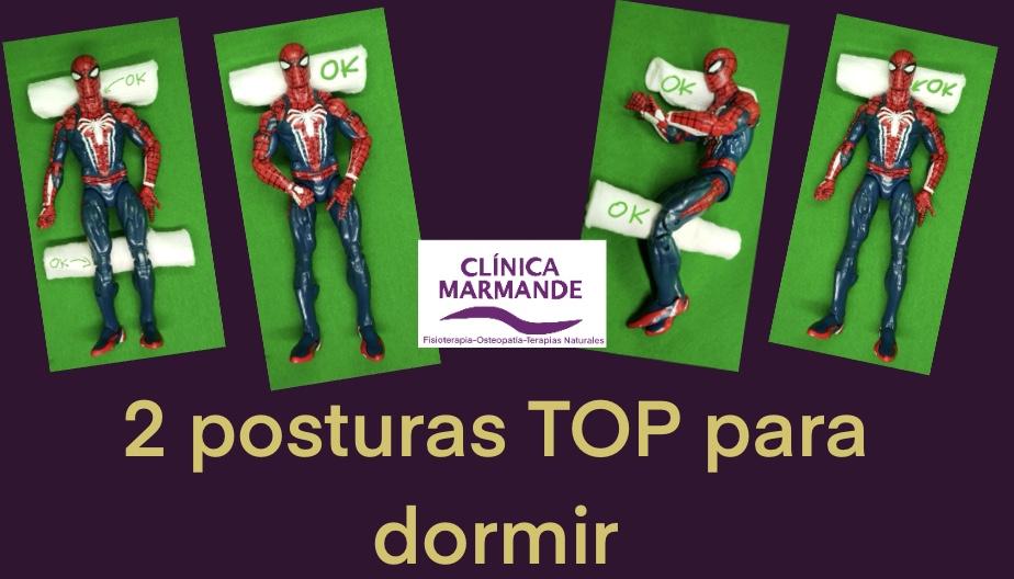 POSTURA CORRECTA DORMIR DOLOR AL DESPERTAR COLCHON ALMOHADA POSTUROLOGIA